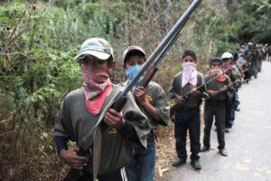 Guerrero boys auto defense groups