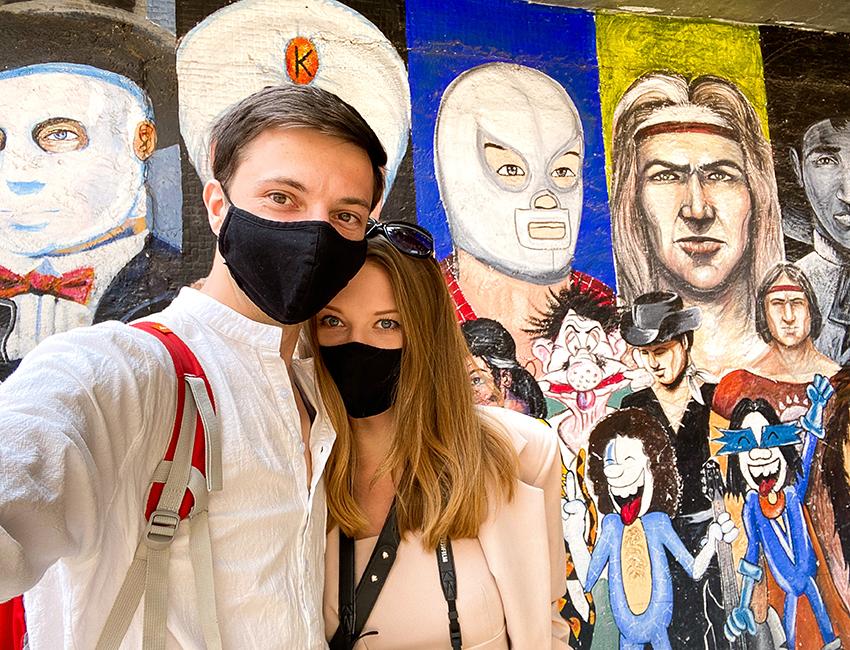 Viaja con Ernestas Tyminas և Darina Karpitskaya de YouTubers en México