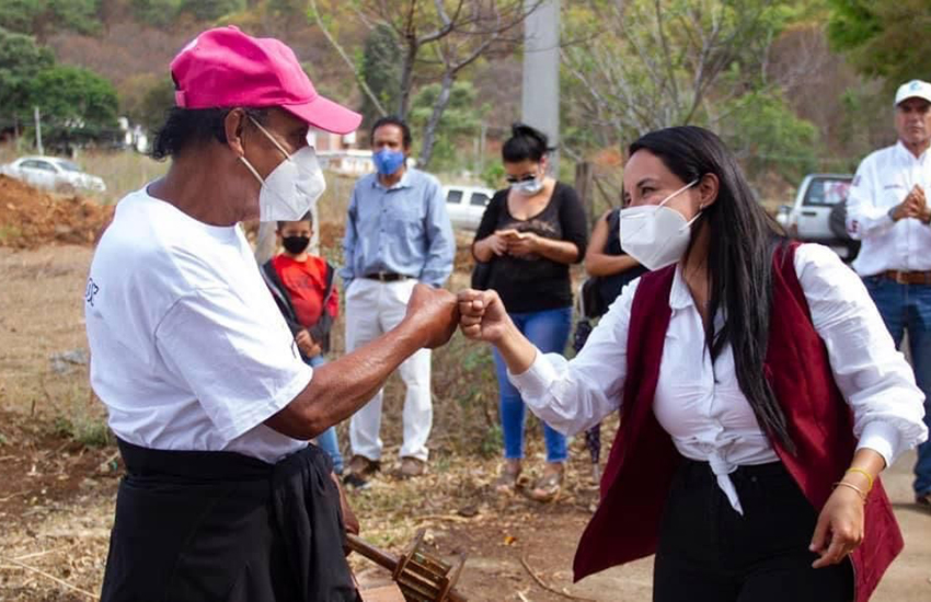 Morena party candidate in Valle Bravo, México state, Michelle Nuñez