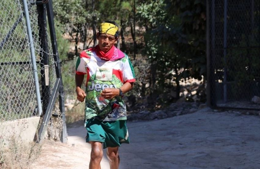 Pedro Parra ultramarathoner and Raramuri