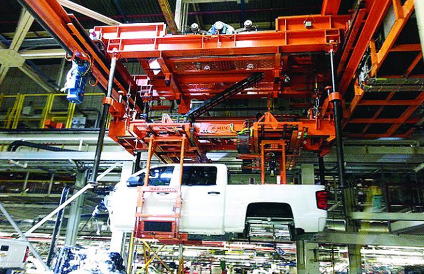 GM pickup made at Silao, Mexico plant