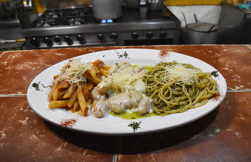 El ItaloMexicano Restaurant's pasta dish