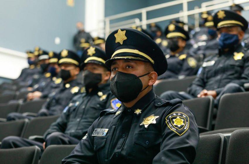Querétaro municipal police.