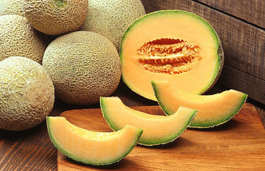 What's better than a fresh sweet cantaloupe?