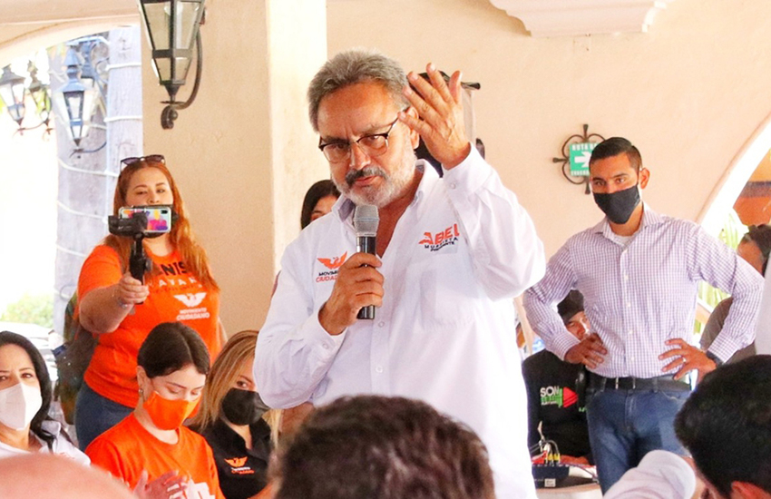 Candidate for mayor in the municipality of Cajeme, Sonora, Abel Murrieta Gutiérrez,
