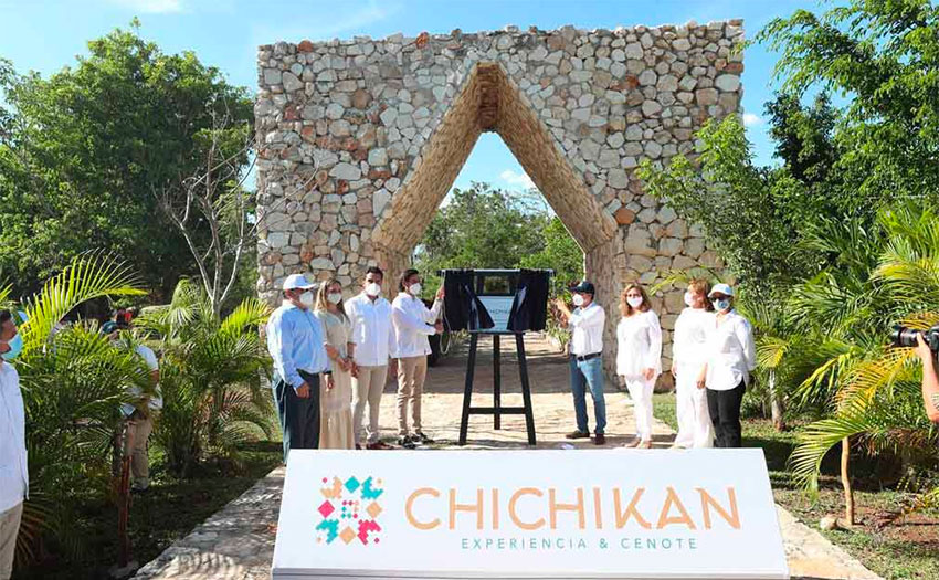 A new project that has just opened in Yucatán is the ecotourism park Chichikan, near Valladolid.