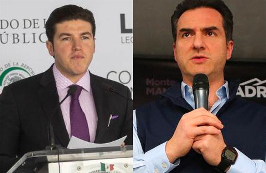 García, left, and de la Garza are under investigation.
