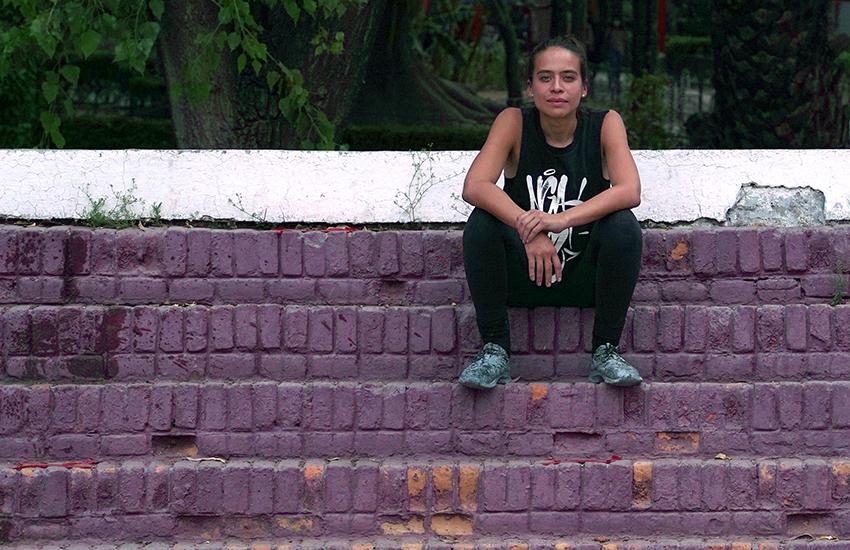 Mexican artist Paola Delfín.