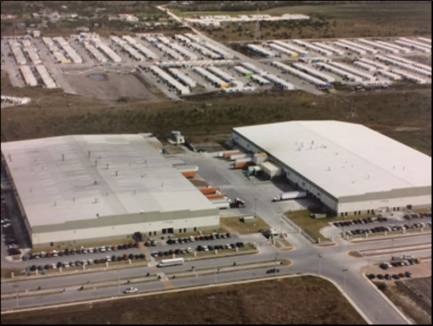 Tridonex manufacturing plant in Matamoros, Tamaulipas.