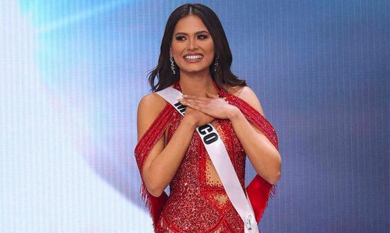 Pageant winner Andrea Meza.