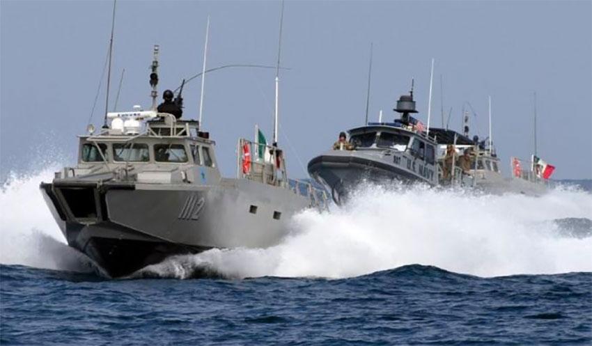 navy interceptor vessels