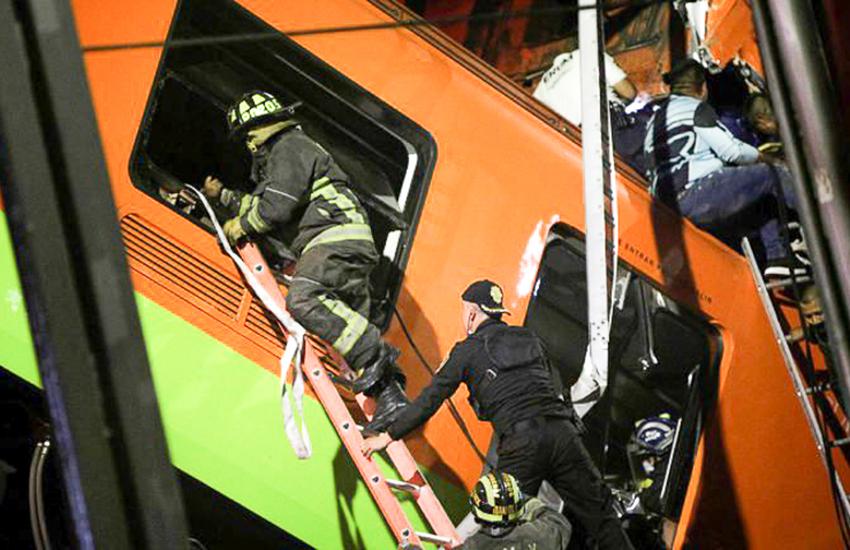 Mexico City Metro Line 12 accident