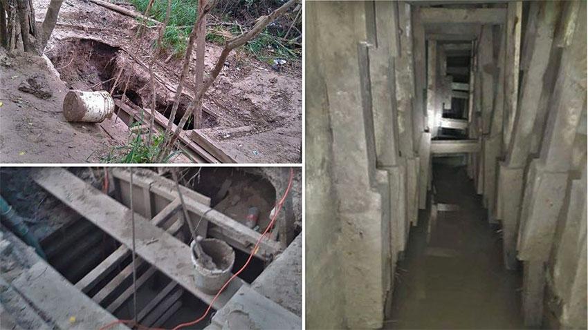 The Tijuana narco-tunnel