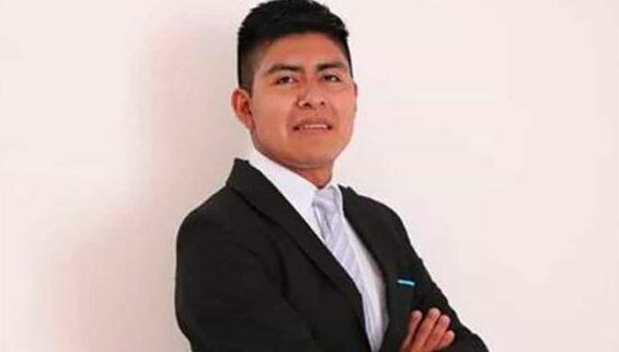 Scholarship winner Ramiro González.