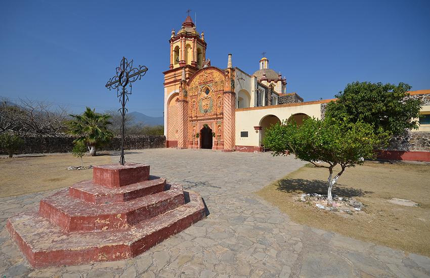 Church mission at Concá, Querétaro