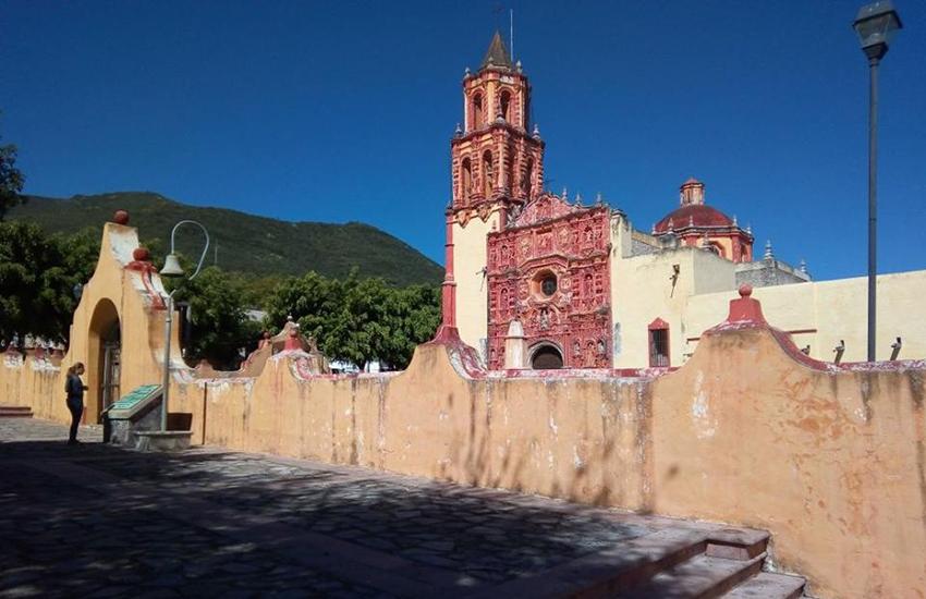 Mission church in Landa de Matamoros