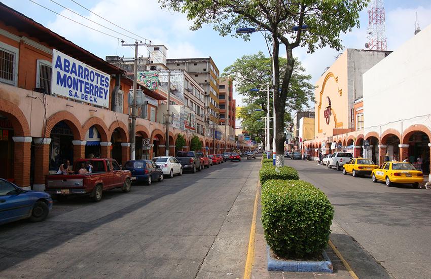 Avenida Madero in Villahermosa.