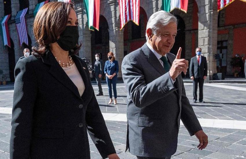 United States Vice President Kamala Harris and President López Obrador