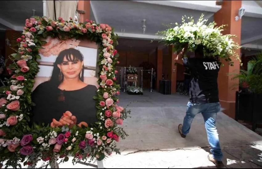 Funeral for Alma Barragan Moroleón, Guanajuato