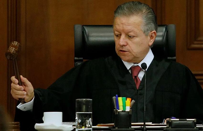 Supreme Court Justice Arturo Zaldívar