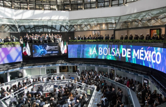 Mexican stock exchange, the Bolsa Mexicana del Valores