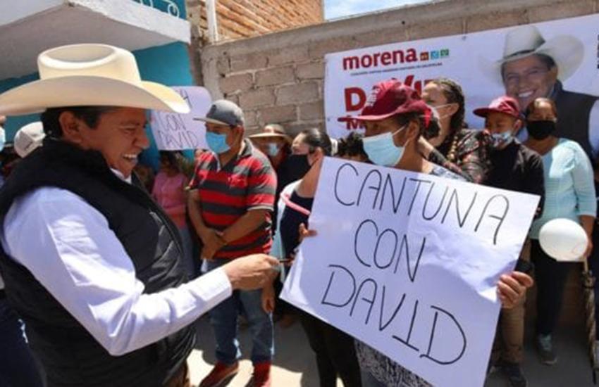 David Monreal, candidate for governor for Zacatecas, Mexico