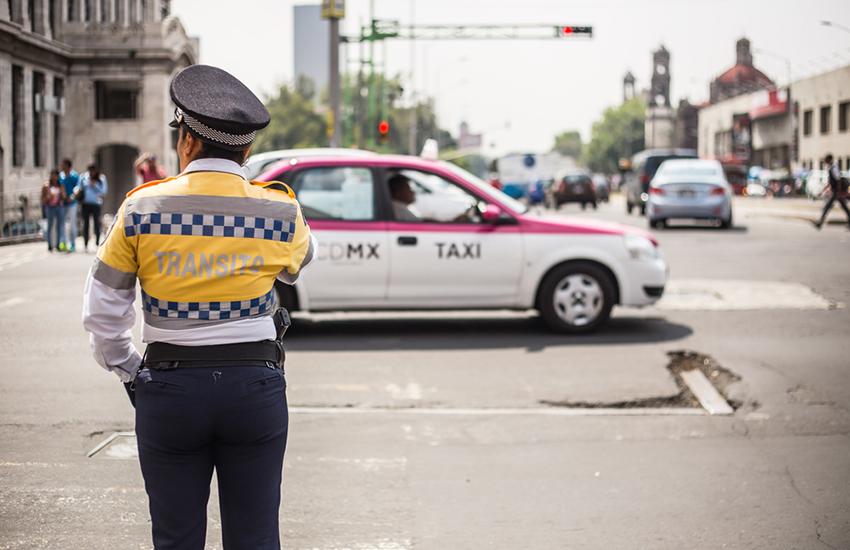 Mexico City transit police