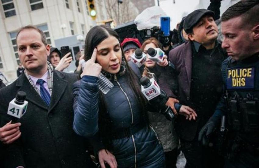 "Emma Coronel Aispuro, wife of Joaquin ""El Chapo"" Guzman"