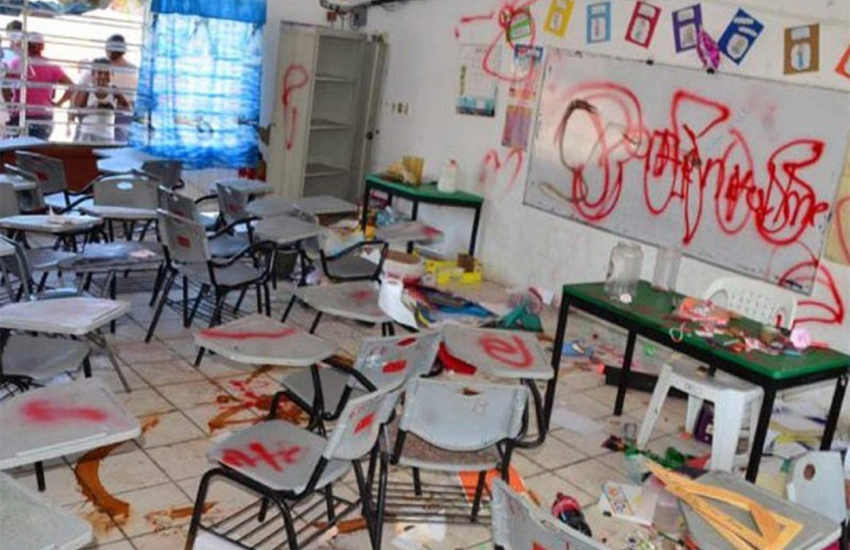 Robbed Guanajuato school