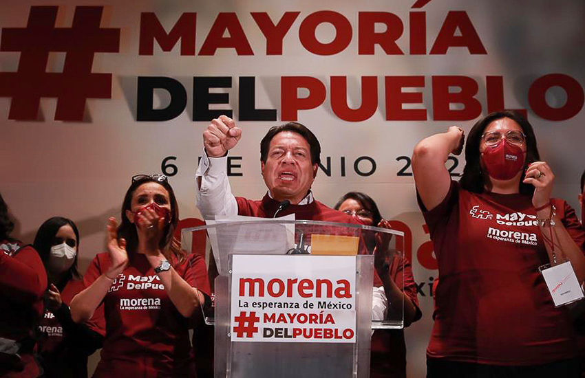 Morena party national president Mario Delgado