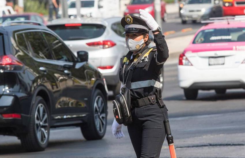 Mexico City Transit Cop