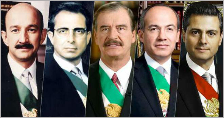 Five past presidents discussed in Mexico referendum question