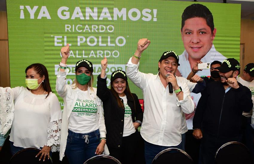 Ricardo Gallardo, San Luis Potosi governor-elect