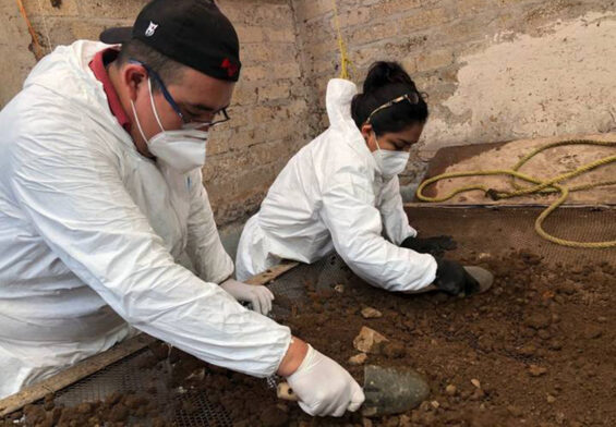 authorities searching house of México state serial killer Andrés N