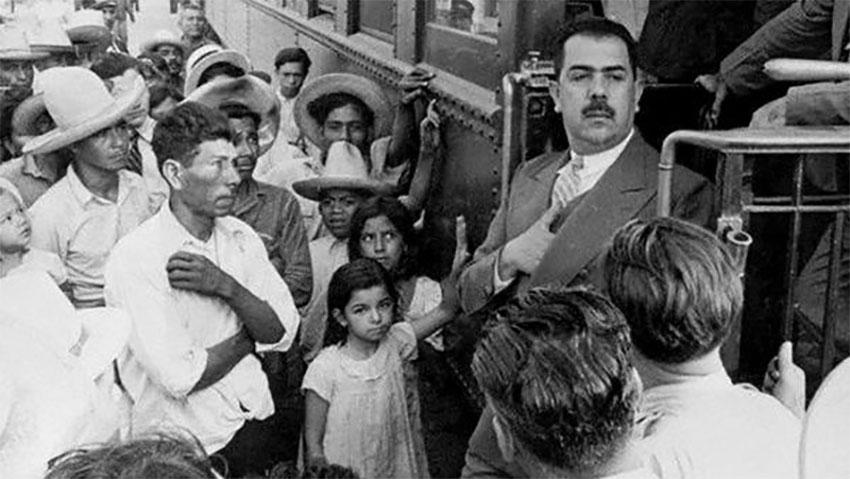 president Lázaro Cárdenas