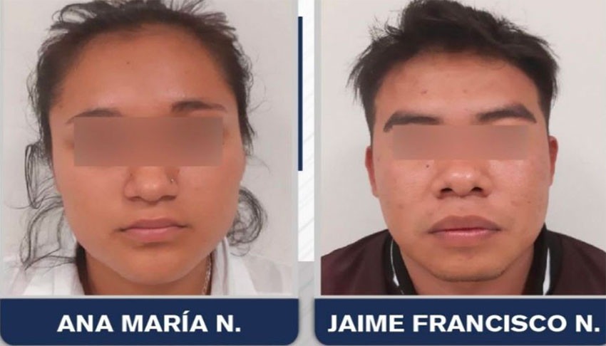 Two criminal suspects with censor bars and no surname.