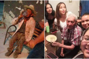 Don Felipe, before and after.