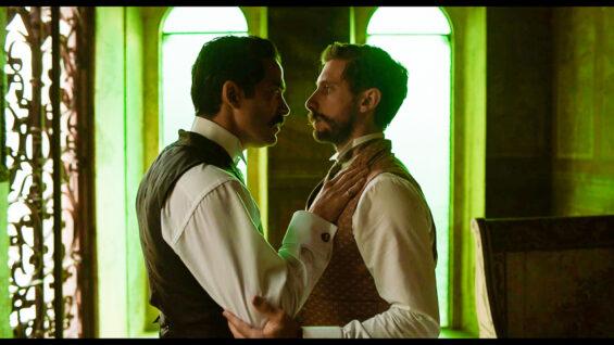 still from the film El baile de los 41