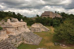 The Maya ruins of Ek' Balam in Yucatán