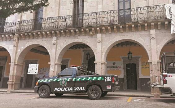 Monte Escobedo, Zacatecas, municipal palace.