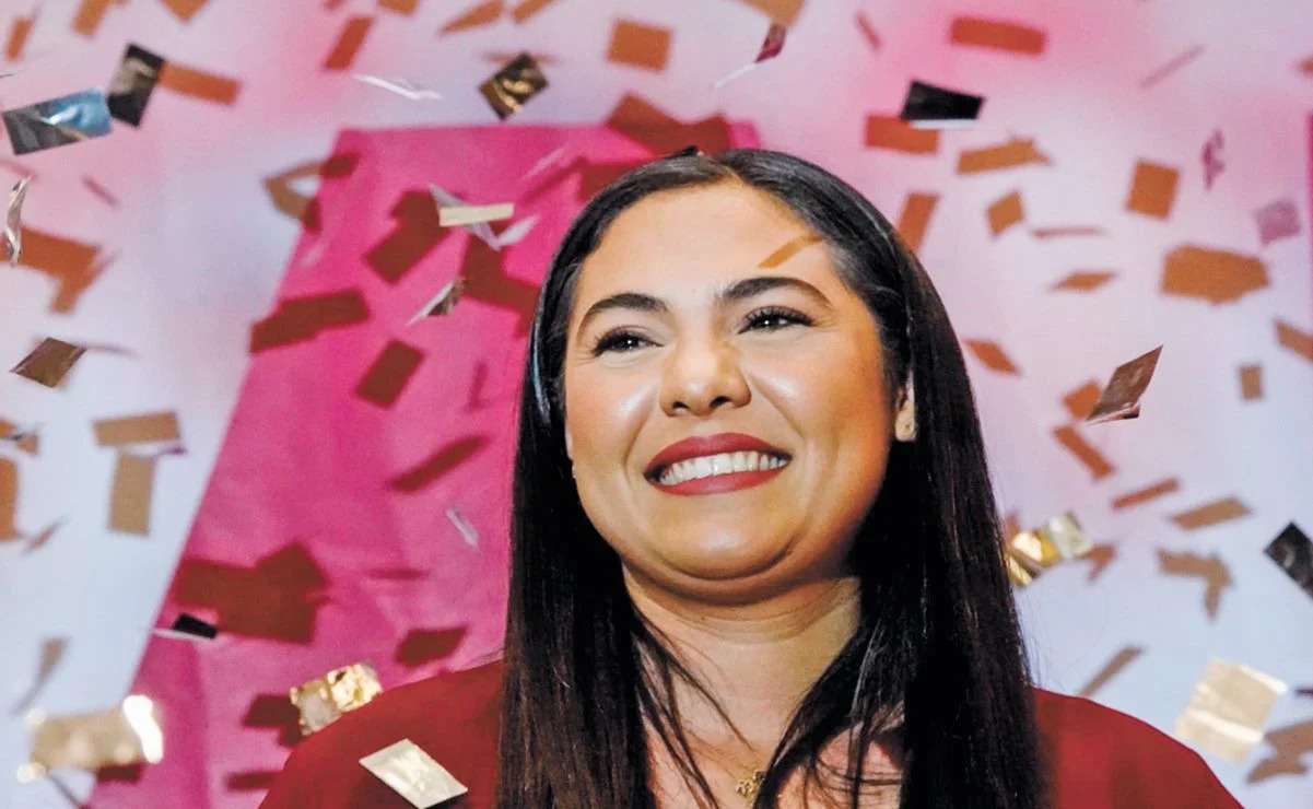 Indira Vizcaíno, Morena governor-elect in state of Colima, Mexico