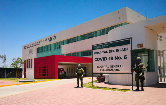 An Insabi hospital in Culiacán, Sinaloa.