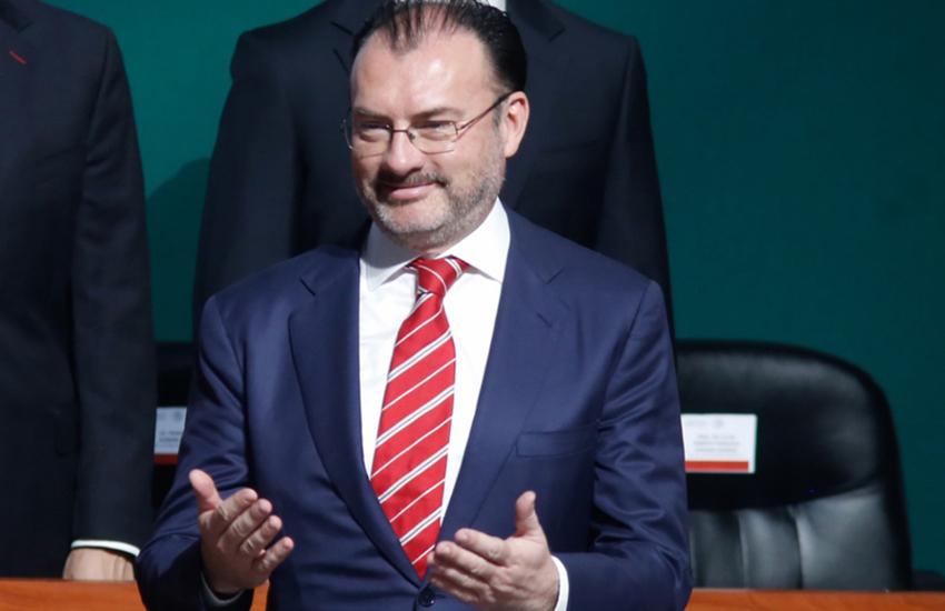 former cabinet minister Luis Videgaray