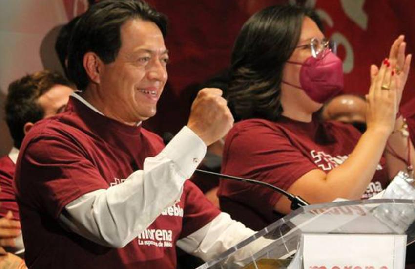 Mexico's Morena Party leader Mario Delgado