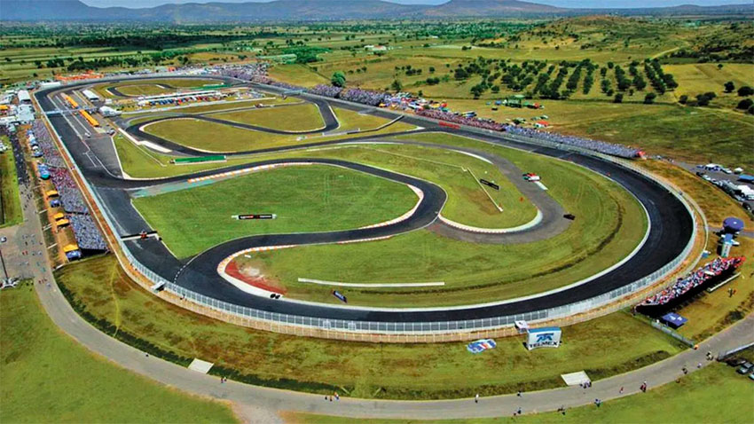 The Miguel E. Abed track in Puebla city.