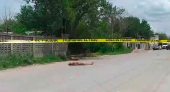 Victims of Saturday's shootings in Reynosa.