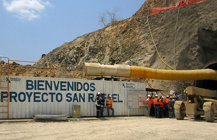 Americas Gold and Silver's San Rafael Mine in Cosalá, Sinaloa.