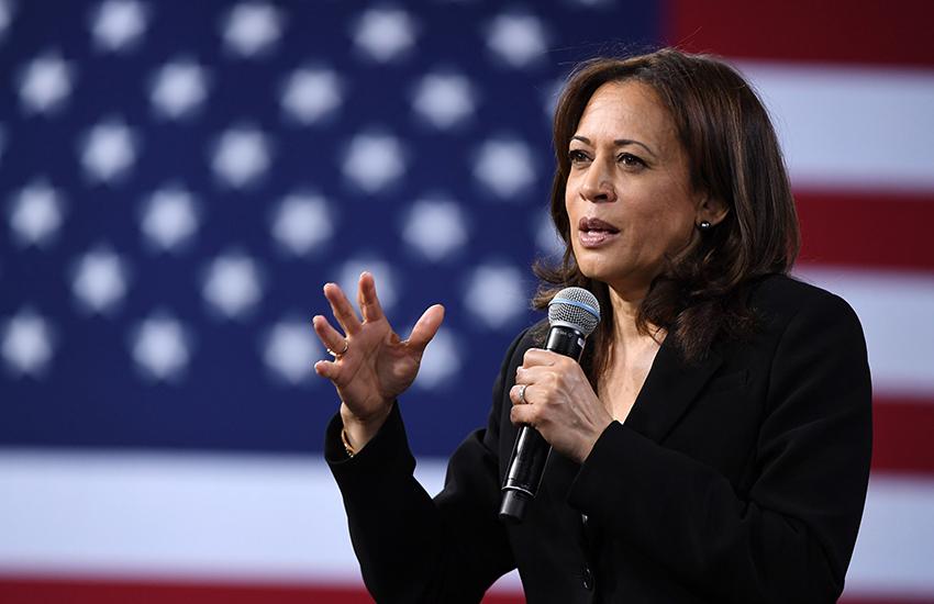 United States Vice President Kamala Harris.