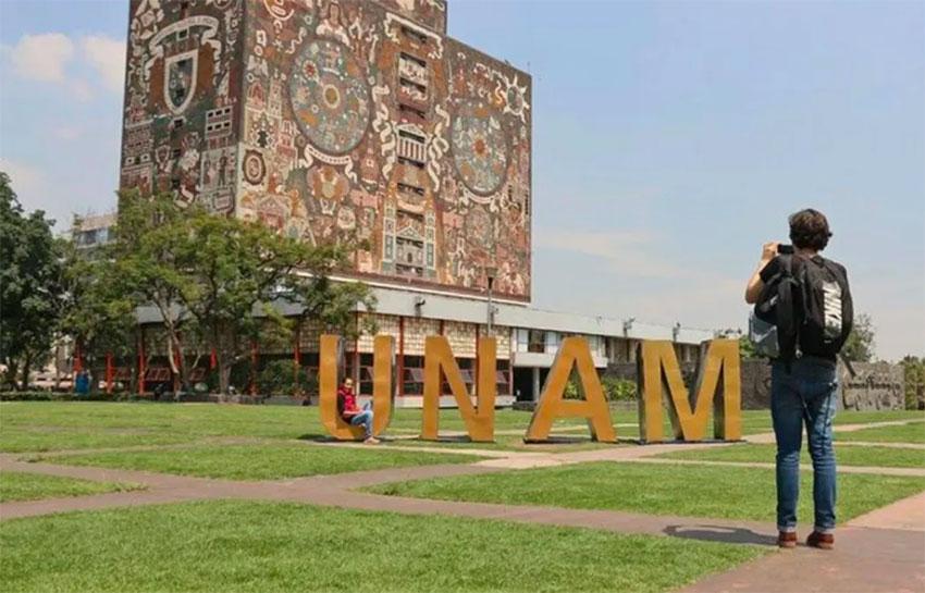 The National Autonomous University in Mexico City.