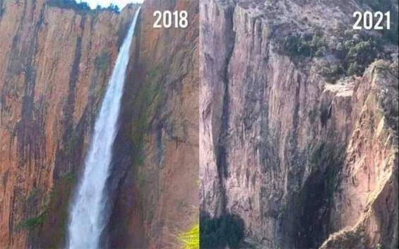 The Basaseachi waterfall